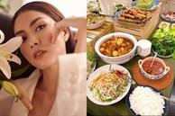 Tăng Thanh Hà khoe bàn tiệc Tết thịnh soạn của giới nhà giàu: Món ngon truyền thống, bày trí đẹp mắt như nhà hàng hạng sang