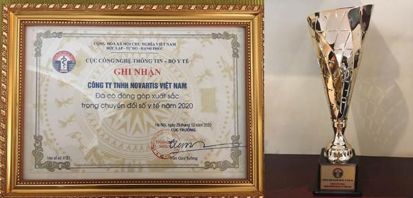 Novartis được vinh danh tại Hội nghị Chuyển đối số y tế quốc gia-1