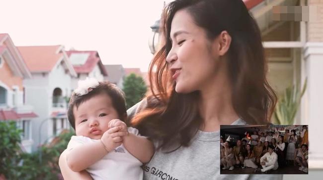 Con gái Đông Nhi gây thích thú với gương mặt không cảm xúc khi mẹ chúc mừng sinh nhật bố Ông Cao Thắng-2