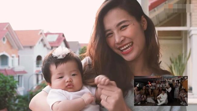 Con gái Đông Nhi gây thích thú với gương mặt không cảm xúc khi mẹ chúc mừng sinh nhật bố Ông Cao Thắng-1