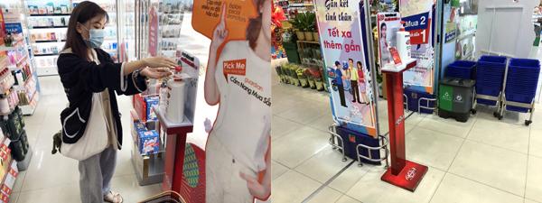 Lifebuoy hỗ trợ sản phẩm miễn phí tại điểm nóng chống dịch, nơi công cộng-3