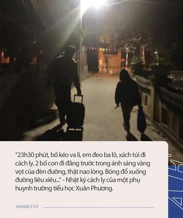 Nhật ký cách ly của bà mẹ con học lớp 3 trường tiểu học Xuân Phương: Chị nhường đồ ăn, em tưởng tượng như Sao nhập ngũ, thực tế thì lại thế này!-2