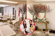 Phan Như Thảo cùng chồng đại gia trang trí không gian sống sang chảnh đón Tết Nguyên Đán