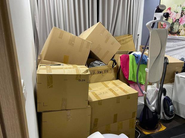 Khổ như Hari Won: 3 ngày nữa Tết vẫn loay hoay chuyển nhà lần thứ... 47, nhìn đống đồ đạc la liệt mà thương!-2
