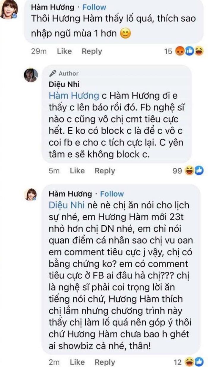 Bị thánh comment Hàm Hương mượn số điện thoại để tố cáo Diệu Nhi, Trang Trần tuyên bố sẽ truy tìm danh tính bằng được-1
