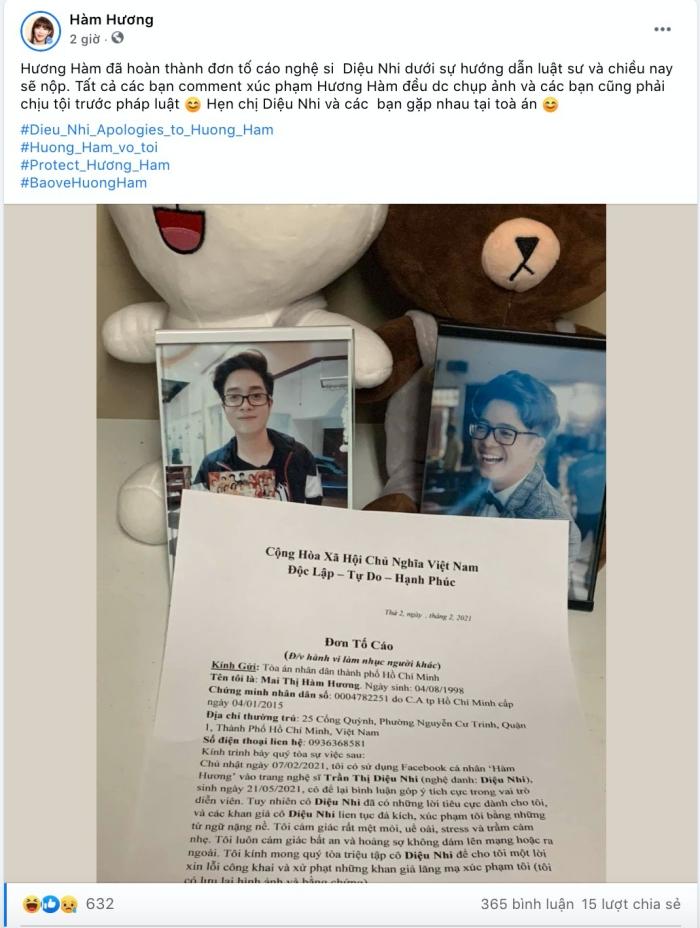 Bị thánh comment Hàm Hương mượn số điện thoại để tố cáo Diệu Nhi, Trang Trần tuyên bố sẽ truy tìm danh tính bằng được-2