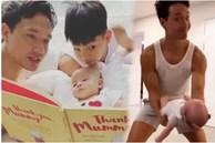 Chồng Hồ Ngọc Hà thời độc thân đẹp trai, phong độ 'vạn người mê', giờ làm bố bỉm sữa với những pha chăm con hài hước 'đi vào lòng người'