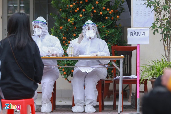 Hà Nội ghi nhận thêm một người ở Cầu Giấy nhiễm SARS-CoV-2-1