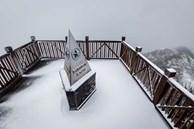 Mưa tuyết phủ trắng đỉnh Fansipan những ngày cuối năm, nhiệt độ xuống -3 độ C