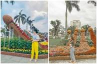 Tạo hình hoa Tết 2021 ở Quảng Nam bị chế giễu 'nhạy cảm' đã được chỉnh sửa