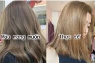 Chi gần 4 triệu làm tóc: Cô nàng này khóc ròng vì màu không đúng mong muốn, chủ tiệm vòng vo khi được yêu cầu nhuộm lại