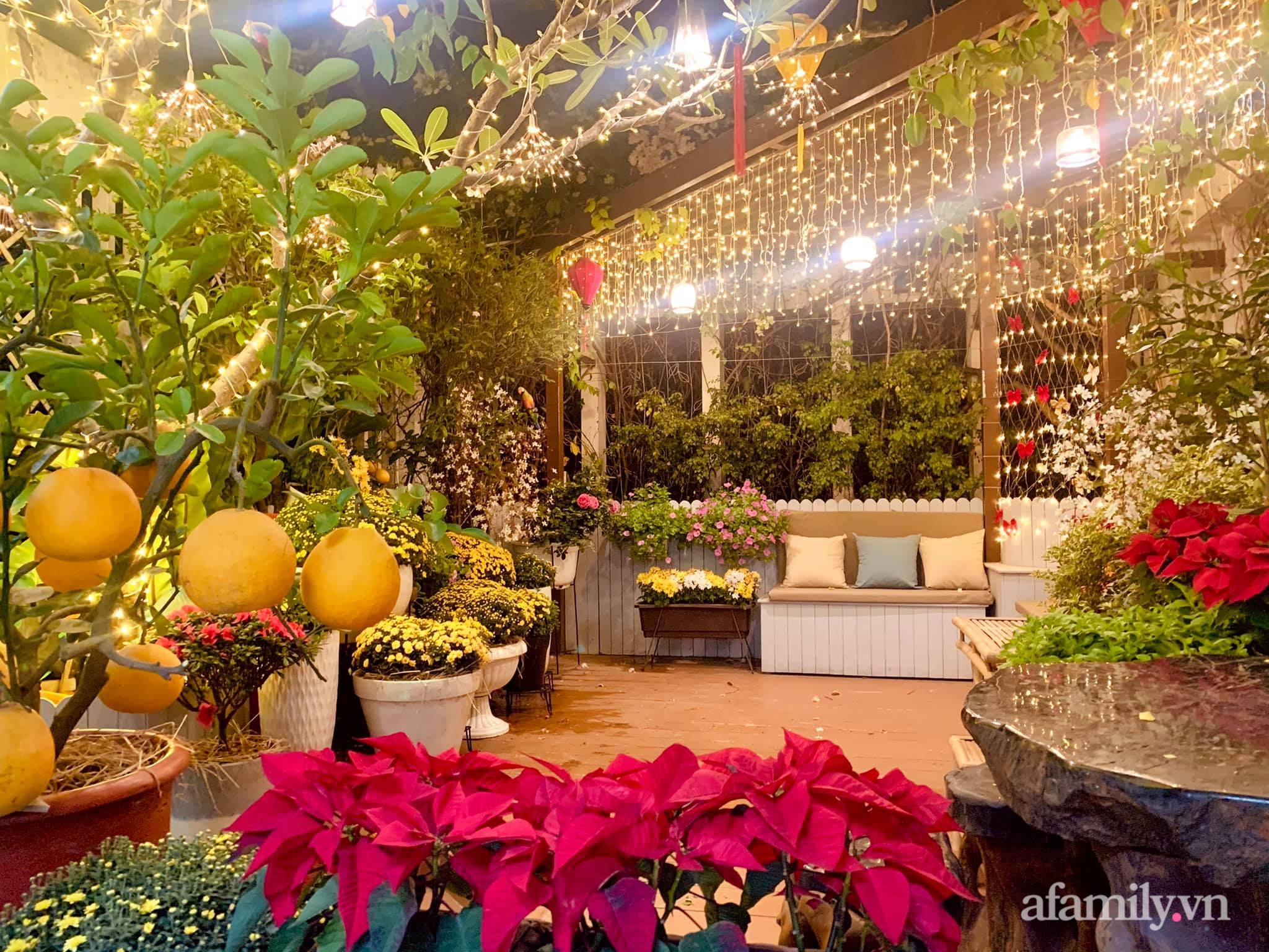 Mùng 1 đầu năm cùng ghé thăm sân thượng mang sắc màu Tết truyền thống của mẹ đảm ở Sài Gòn-4