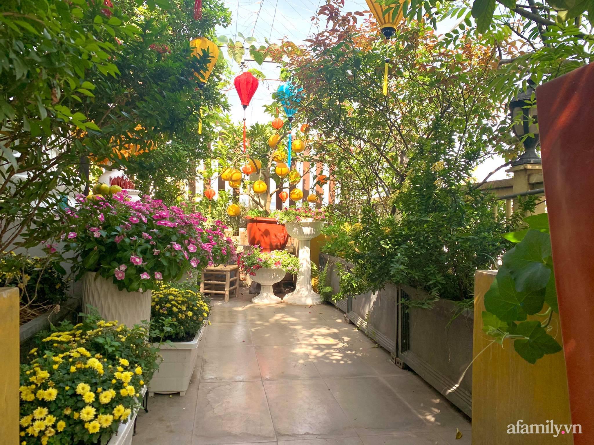 Mùng 1 đầu năm cùng ghé thăm sân thượng mang sắc màu Tết truyền thống của mẹ đảm ở Sài Gòn-37