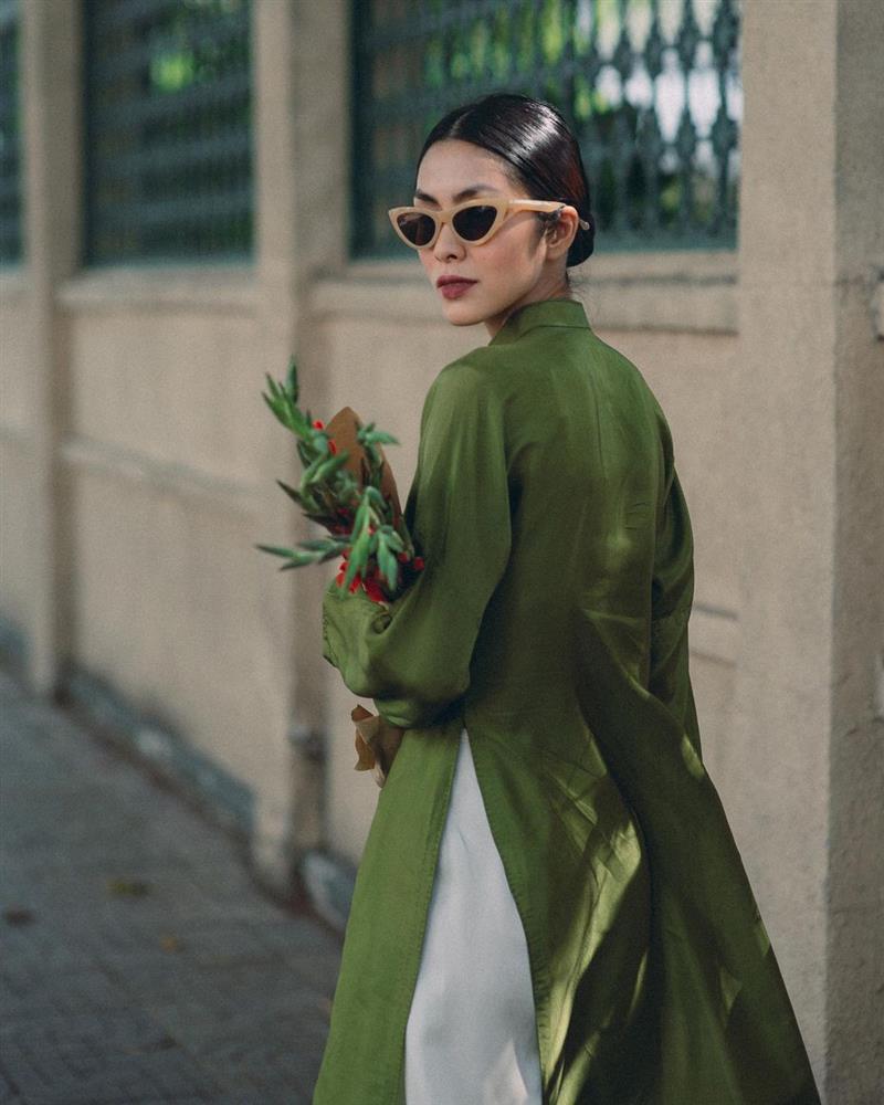 5 kiểu tóc sao Việt để khi diện áo dài: Đều rất xinh và sang, lên hình sống ảo lại càng lung linh-1