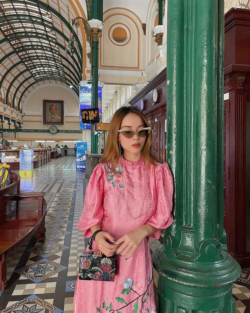5 kiểu tóc sao Việt để khi diện áo dài: Đều rất xinh và sang, lên hình sống ảo lại càng lung linh-11