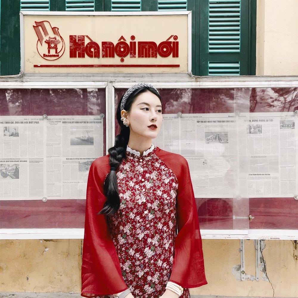 5 kiểu tóc sao Việt để khi diện áo dài: Đều rất xinh và sang, lên hình sống ảo lại càng lung linh-12