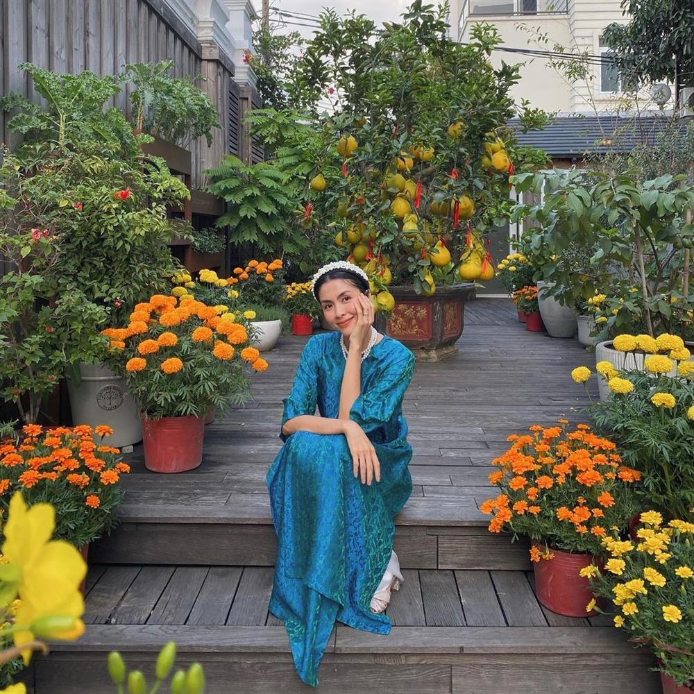 5 kiểu tóc sao Việt để khi diện áo dài: Đều rất xinh và sang, lên hình sống ảo lại càng lung linh-8
