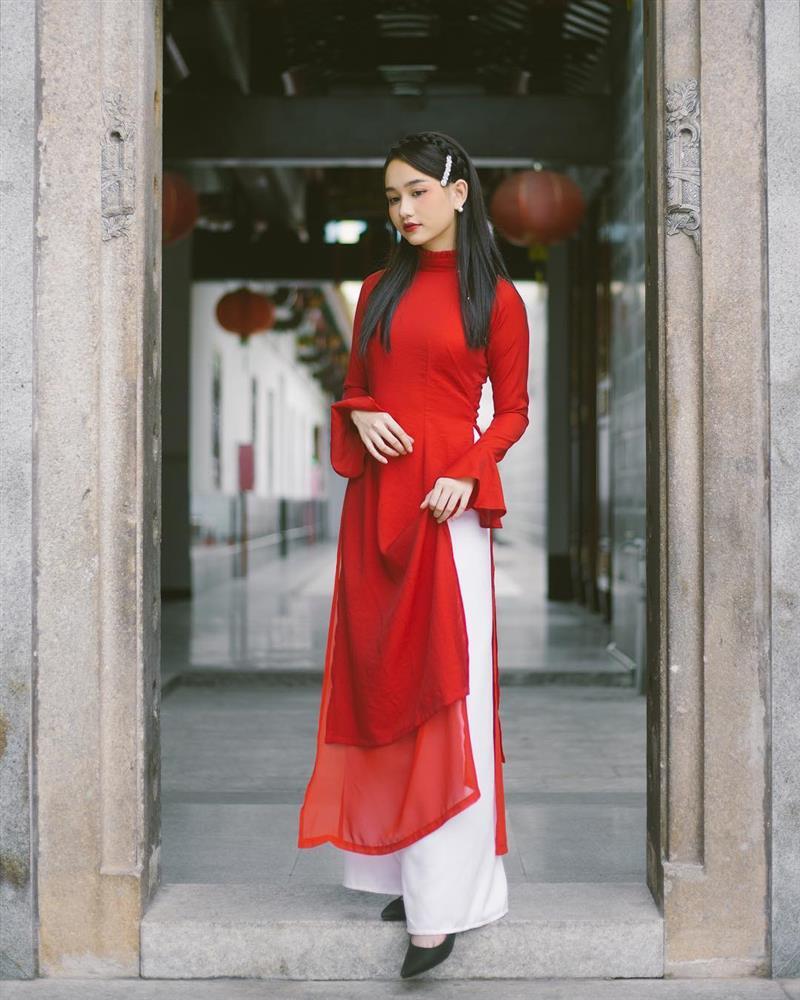 5 kiểu tóc sao Việt để khi diện áo dài: Đều rất xinh và sang, lên hình sống ảo lại càng lung linh-9