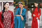 Sao Việt mặc gì đi lễ chùa đầu năm: Lệ Quyên, Angela Phương Trinh nền nã với áo dài, Sun Ht và Chi Pu lại gây tranh cãi-14