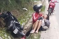 Xôn xao chuyện cô gái trẻ đang lái xe máy du Xuân thì bị cướp tài sản, thương tích phải nhập viện