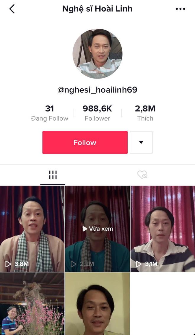 NSƯT Hoài Linh lập TikTok chưa đầy 24h đã sở hữu lượt follow khủng, chào hỏi nhẹ cũng 6 triệu view và loạt clip chế đỉnh không kém-1