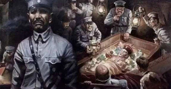 Di thể thảm hại của Từ Hi Thái hậu sau khi bị bè lũ trộm mộ Tôn Điện Anh vũ nhục-3