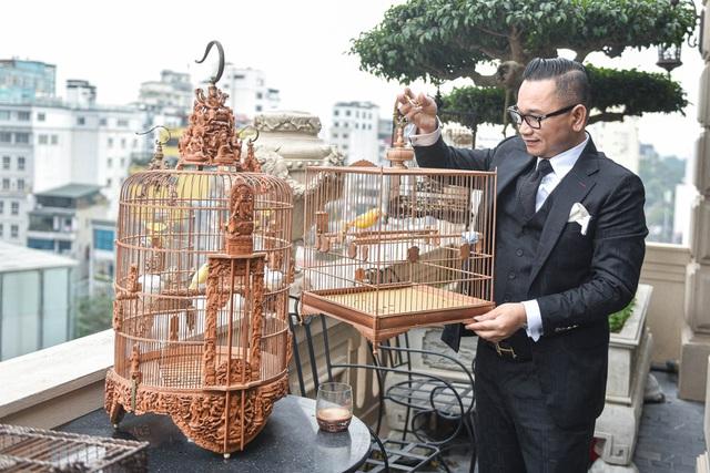 Tay cầm tiền tỷ, đại gia cũng không mua nổi chim ngũ sắc độc nhất Việt Nam-8