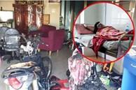 Kinh hoàng: Người đàn ông buổi sáng đi cướp, buổi tối đốt nhà, đâm trọng thương 2 con nhỏ