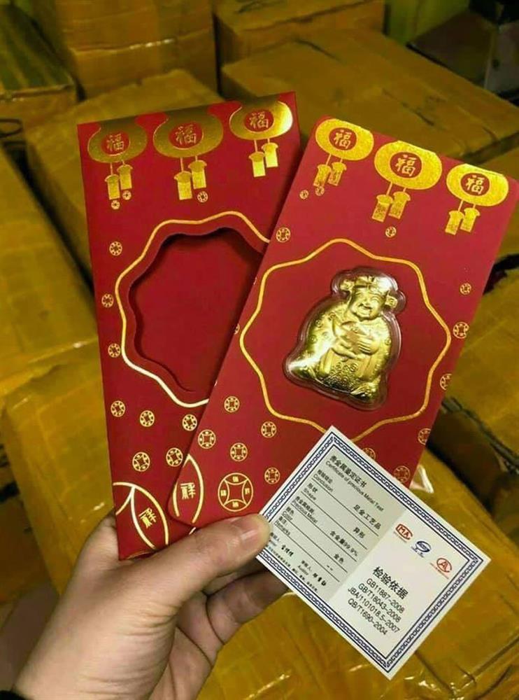 Trâu vàng Trung Quốc, Thần tài bên Tàu tràn sang chợ Việt giá 10.000 đồng-1