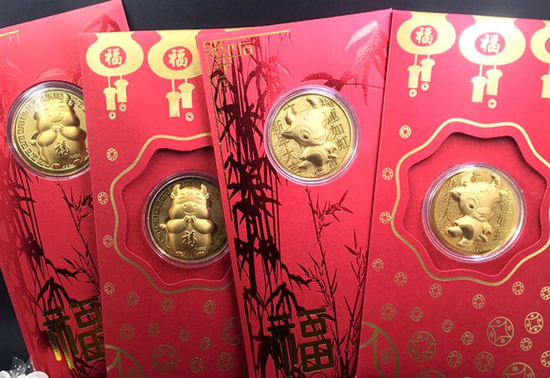 Trâu vàng Trung Quốc, Thần tài bên Tàu tràn sang chợ Việt giá 10.000 đồng-3