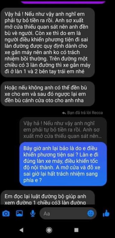 Biến căng giữa đêm: Huỳnh Anh bị tố mở cửa ô tô gây tai nạn nhưng lật mặt chối bồi thường, có cả clip và tin nhắn bằng chứng-6