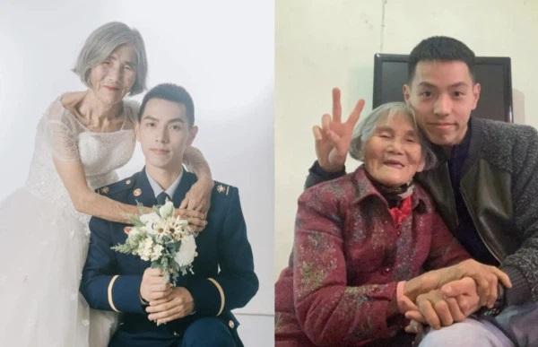 Bộ ảnh cưới của chàng lính cứu hỏa và cô dâu hơn 61 tuổi gây chấn động MXH, hóa ra đằng sau là câu chuyện ấm lòng ít ai đoán được-1