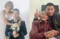 Bộ 'ảnh cưới' của chàng lính cứu hỏa và cô dâu hơn 61 tuổi gây chấn động MXH, hóa ra đằng sau là câu chuyện ấm lòng ít ai đoán được