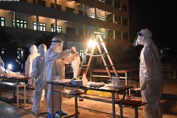 Thêm một thợ xây dương tính SARS-CoV-2 ở Hải Dương