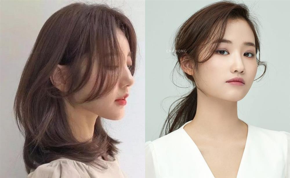 Kiểu tóc giúp che nhược điểm: Mặt vuông, cằm bạnh nên để tóc lửng chạm vai-4