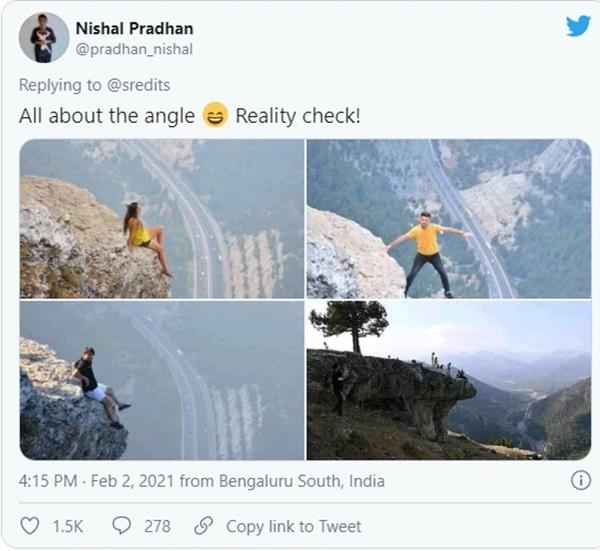 Đăng bức ảnh chụp trên vách đá cheo leo, cặp đôi bị ném đá tơi bời vì quá mạo hiểm, nhưng sự thật phía sau khiến tất cả câm nín-3