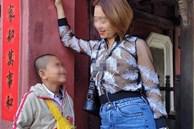 Xác minh, làm rõ việc người phụ nữ diện trang phục 'xuyên thấu' chụp hình ở di tích lịch sử Cầu Chùa khiến dư luận bức xúc