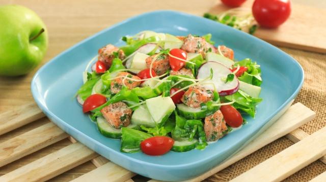 Chị em đang giảm cân mà không thử món salad siêu ngon này thì quả là đáng tiếc!-1