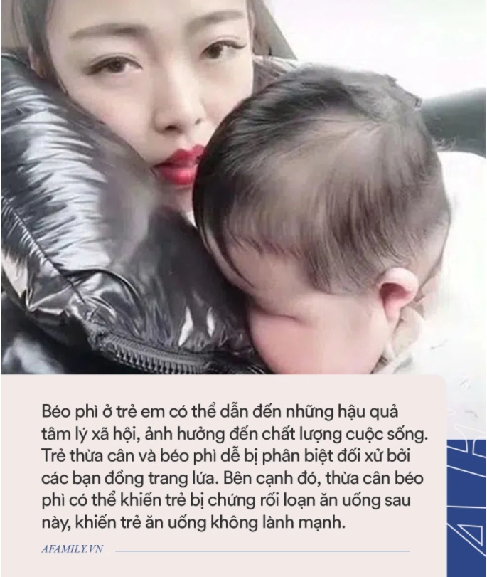 Bà mẹ trẻ được khen xinh đẹp dù đang nuôi con mọn, nhưng nhìn sang em bé ai cũng khuyên cô nên đưa con đi khám bác sĩ-3
