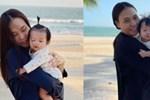 Đàm Thu Trang tiết lộ khoảnh khắc cực độc của Cường Đô la nhưng biểu cảm của cô con gái cưng mới gây chú ý-4