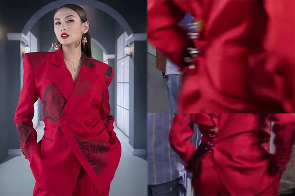Ngọc Trinh đánh lừa fan không cao tay bằng HHen Niê chữa cháy váy áo-5