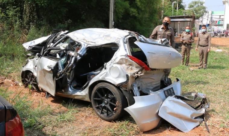 Nguyên nhân vụ tai nạn khiến Á hậu Thái Lan qua đời-1