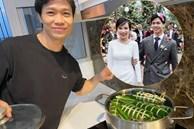 Vừa được khen gói bánh đẹp hôm trước, Công Phượng lại khiến fan ghen tị vì khéo tiết lộ vợ đảm đang, lo Tết cho cả 2 bên gia đình