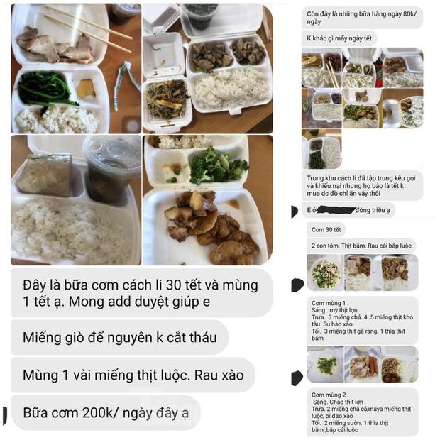 Vụ cắt xén bữa ăn ở Quảng Ninh: Những tin nhắn từ trong khu cách ly-2