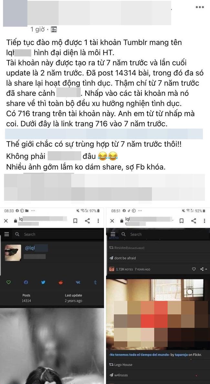 Lộ tài khoản mạng đăng toàn nội dung 18+ trùng tên với nữ diễn viên độc quyền Vbiz bị nghi xuất hiện trong trang web chat sex-1