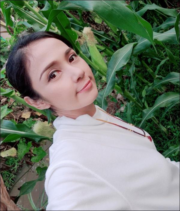 Nhà vườn hoành tráng của Người đẹp Tây Đô Việt Trinh qua Tết vẫn rộn ràng hoa trái, không gian đáng sống ai cũng mơ-1