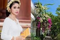Nhà vườn hoành tráng của 'Người đẹp Tây Đô' Việt Trinh qua Tết vẫn rộn ràng hoa trái, không gian đáng sống ai cũng mơ