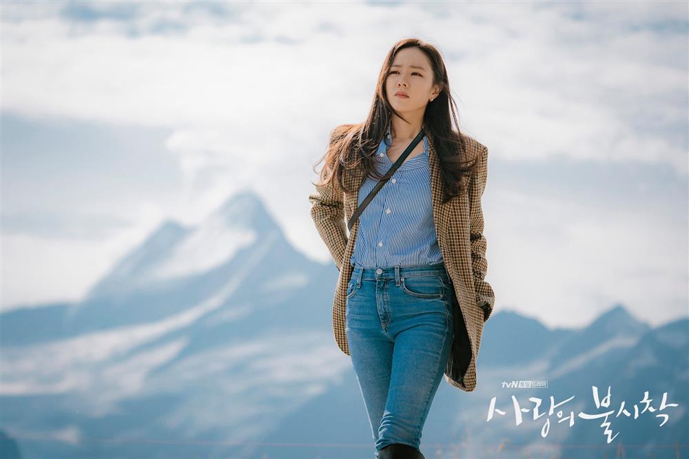 Quần ống rộng phổ biến như thế mà Son Ye Jin rất hiếm khi mặc, và đây chính là lý do-9