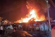 Hỏa hoạn tại thủ đô Philippines, 5 người trong một gia đình thiệt mạng, 300 căn nhà bị thiêu rụi