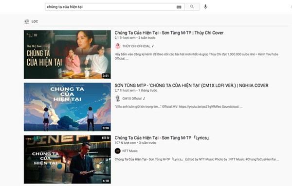 Ngay sau khi Hải Tú khóa Facebook, đến lượt MV Chúng Ta Của Hiện Tại của Sơn Tùng M-TP bay màu?-1